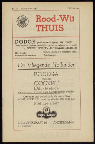 Programmaboekjes (vanaf 1934) 1949-12-18