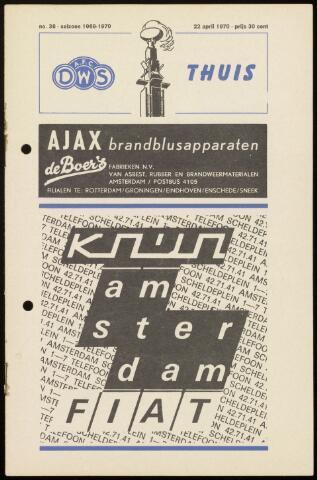 Programmaboekjes (vanaf 1934) 1970-04-22