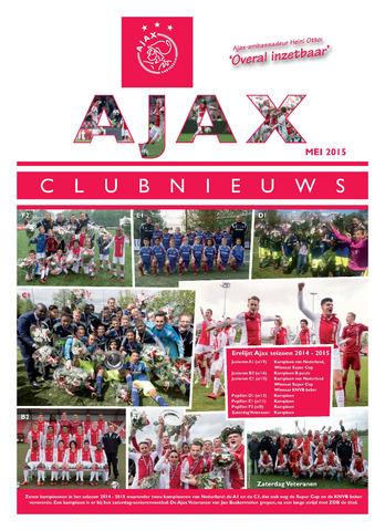 Clubnieuws Ajax (vanaf 1916) 2015-05-01