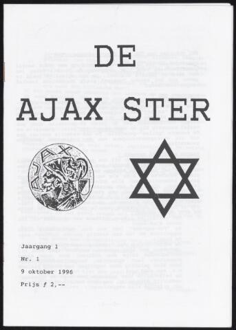 Fanzine De Ajax Ster (1996-2001) 1996-10-09