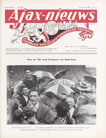 Clubnieuws Ajax (vanaf 1916) 1960-07-01