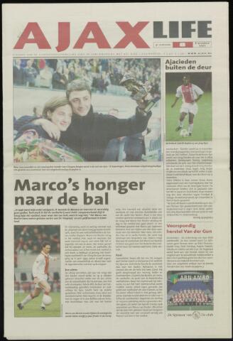 Ajax Life (vanaf 1994) 2001-11-08