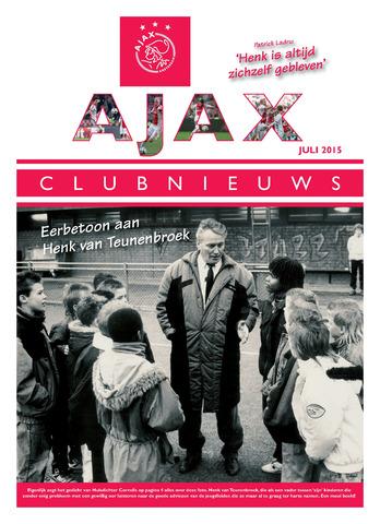 Clubnieuws Ajax (vanaf 1916) 2015-07-01