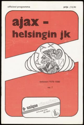 Programmaboekjes (vanaf 1934) 1979-10-03