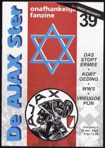 Fanzine De Ajax Ster (1996-2001) 2001-12-19