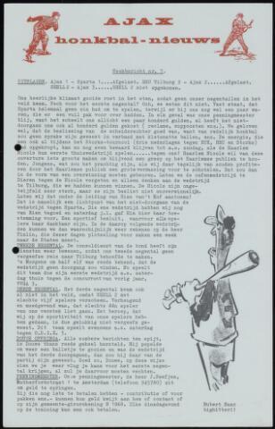 Honkbal nieuws (1963-1972) 1964-05-04