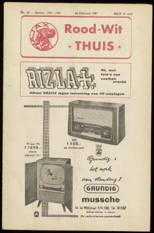 Programmaboekjes (vanaf 1934) 1957-02-24