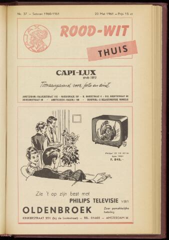 Programmaboekjes (vanaf 1934) 1961-05-20