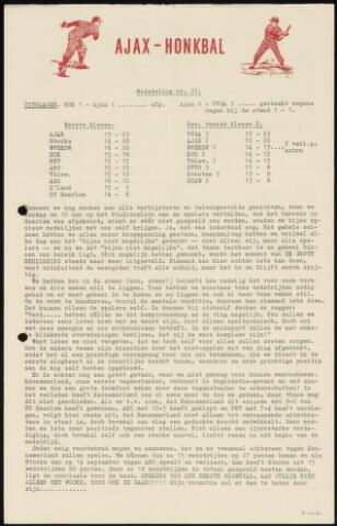 Honkbal nieuws (1963-1972) 1963-09-03