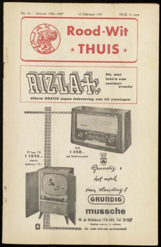 Programmaboekjes (vanaf 1934) 1957-02-10