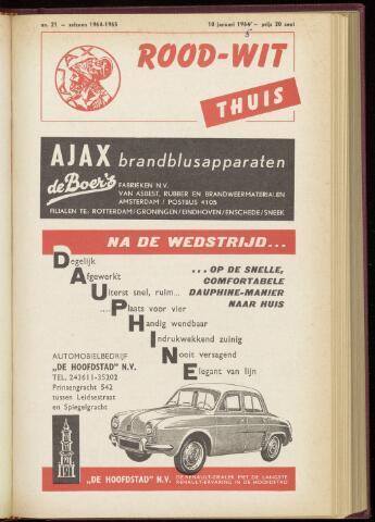 Programmaboekjes (vanaf 1934) 1965-01-10