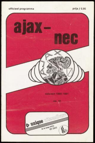 Programmaboekjes (vanaf 1934) 1980-10-29