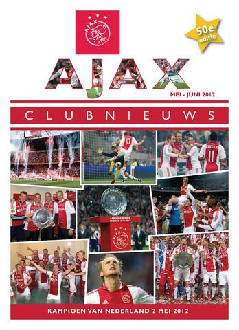 Clubnieuws Ajax (vanaf 1916) 2012-05-01