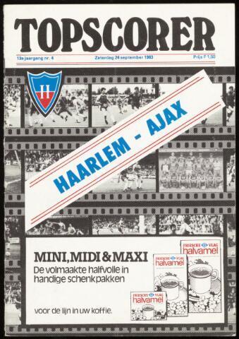 Programmaboekjes (vanaf 1934) 1983-09-24