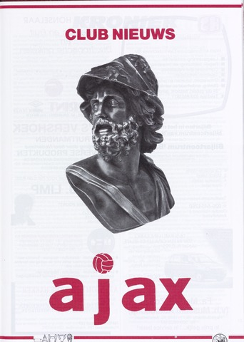 Clubnieuws Ajax (vanaf 1916) 1991-07-01