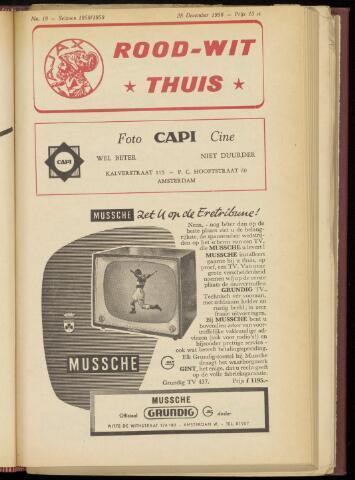 Programmaboekjes (vanaf 1934) 1958-12-28