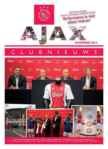 Clubnieuws Ajax (vanaf 1916) 2014-11-01