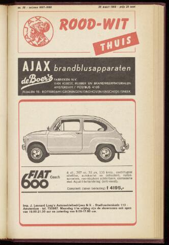 Programmaboekjes (vanaf 1934) 1968-03-20