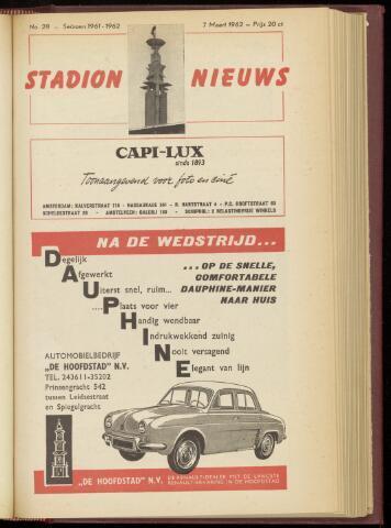 Programmaboekjes (vanaf 1934) 1962-03-07