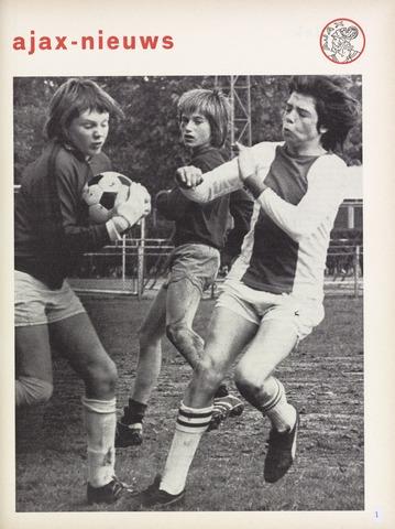 Clubnieuws Ajax (vanaf 1916) 1974-05-01