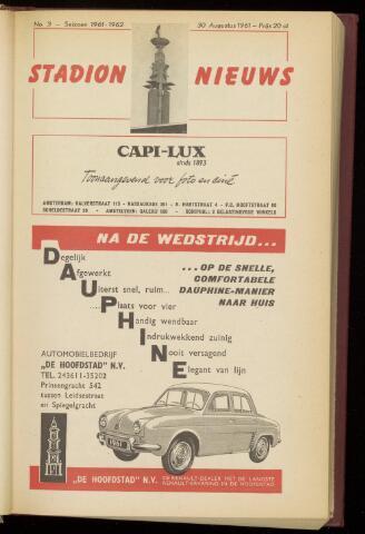 Programmaboekjes (vanaf 1934) 1961-08-30