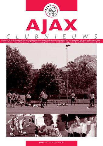 Clubnieuws Ajax (vanaf 1916) 2010-07-01