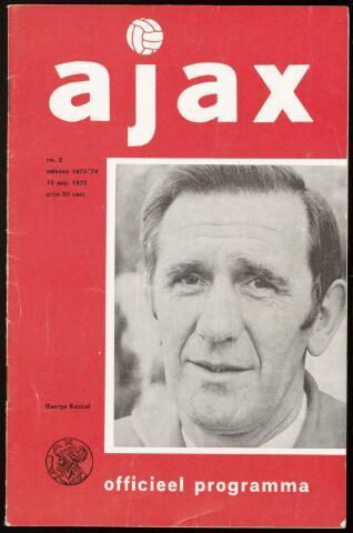 Programmaboekjes (vanaf 1934) 1973-08-19