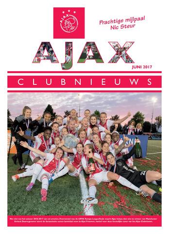Clubnieuws Ajax (vanaf 1916) 2017-06-01
