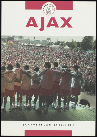 Jaarverslagen Ajax NV (vanaf 1997) 2003