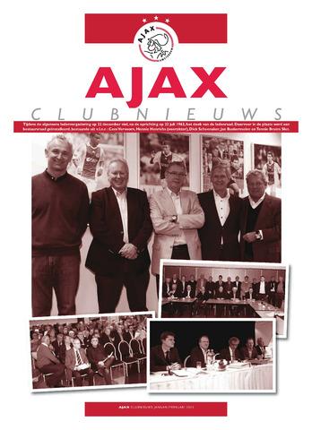 Clubnieuws Ajax (vanaf 1916) 2012-01-01