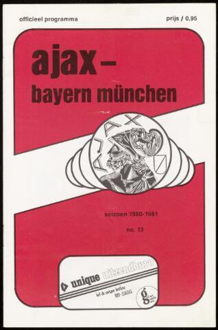 Programmaboekjes (vanaf 1934) 1980-11-05