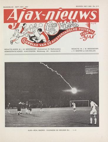 Clubnieuws Ajax (vanaf 1916) 1967-09-01