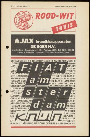 Programmaboekjes (vanaf 1934) 1970-12-13