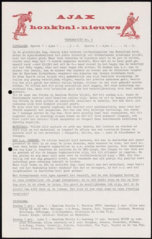 Honkbal nieuws (1963-1972) 1967-05-01