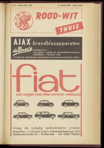 Programmaboekjes (vanaf 1934) 1966-02-27