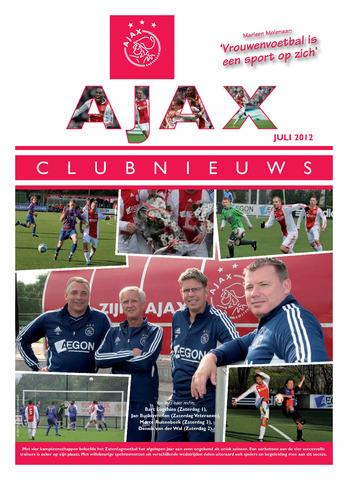 Clubnieuws Ajax (vanaf 1916) 2012-07-01