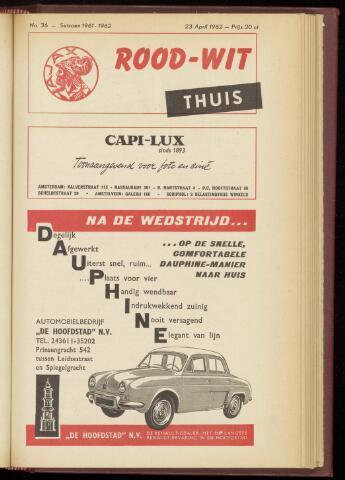 Programmaboekjes (vanaf 1934) 1962-04-23