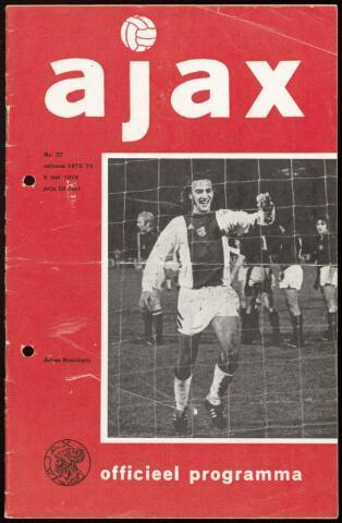 Programmaboekjes (vanaf 1934) 1974-05-05