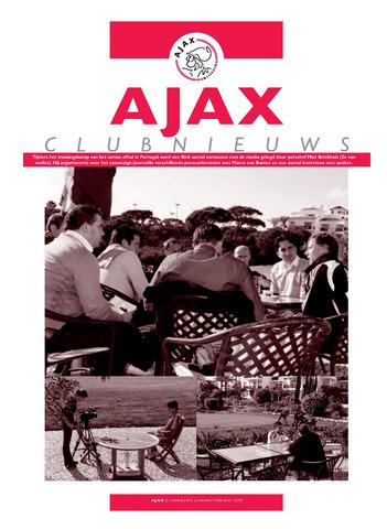 Clubnieuws Ajax (vanaf 1916) 2009