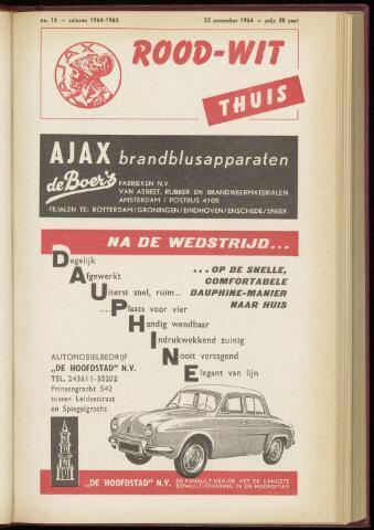 Programmaboekjes (vanaf 1934) 1964-11-22