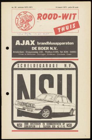 Programmaboekjes (vanaf 1934) 1971-03-14
