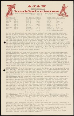 Honkbal nieuws (1963-1972) 1964-07-27