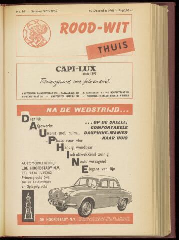 Programmaboekjes (vanaf 1934) 1961-12-10
