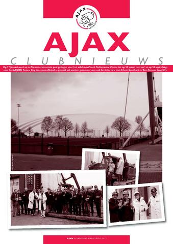 Clubnieuws Ajax (vanaf 1916) 2011-03-01
