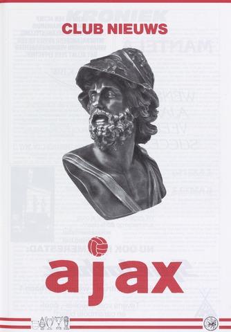 Clubnieuws Ajax (vanaf 1916) 1990-10-01