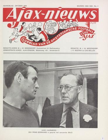 Clubnieuws Ajax (vanaf 1916) 1968-10-01