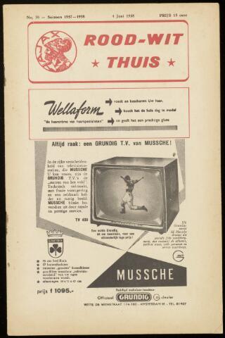 Programmaboekjes (vanaf 1934) 1958-06-04