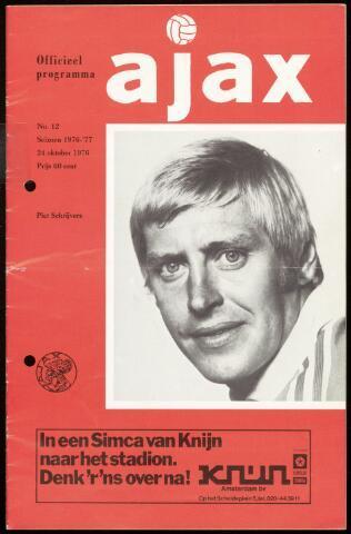Programmaboekjes (vanaf 1934) 1976-10-24