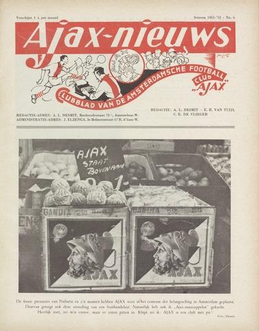 Clubnieuws Ajax (vanaf 1916) 1952-02-01