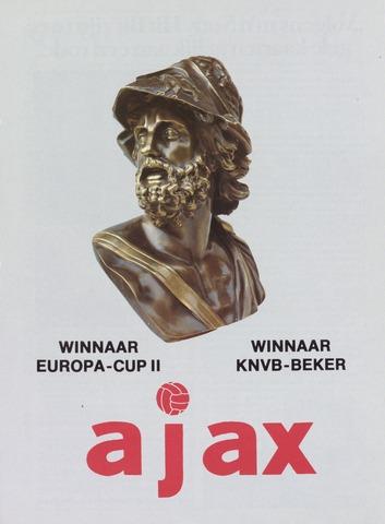 Clubnieuws Ajax (vanaf 1916) 1987-06-01